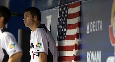 Down and out - The USA will have to just watch  the rest of the World Baseball Classic