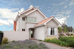Fachadas de casas modernas casa moderna estilo americano for Casas estilo americano
