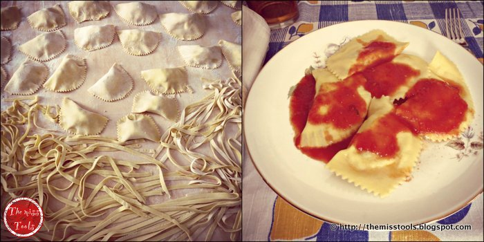 montagne abruzzesi e ravioli dolci di ricotta con tutorial fotografico - abruzzo mountains and sweet ravioli with ricotta cheese (tutorial)