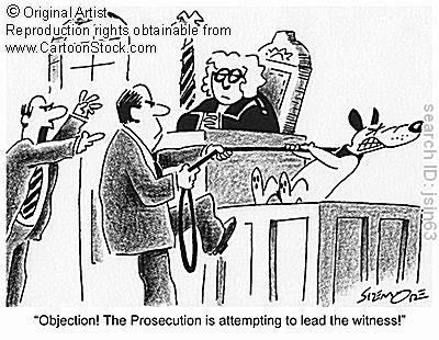 leading questions in court