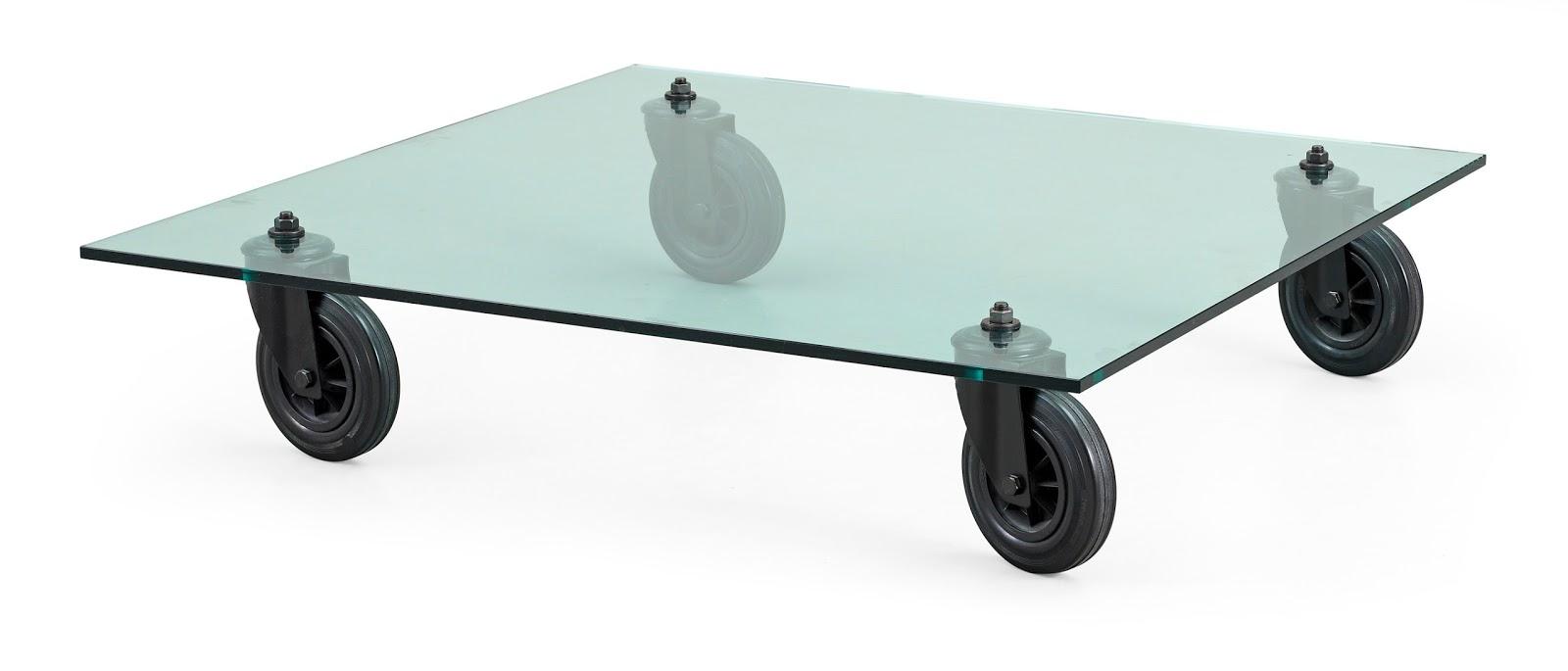 Pomi d 39 ottone una giornata in triennale - Tavolo con ruote ...