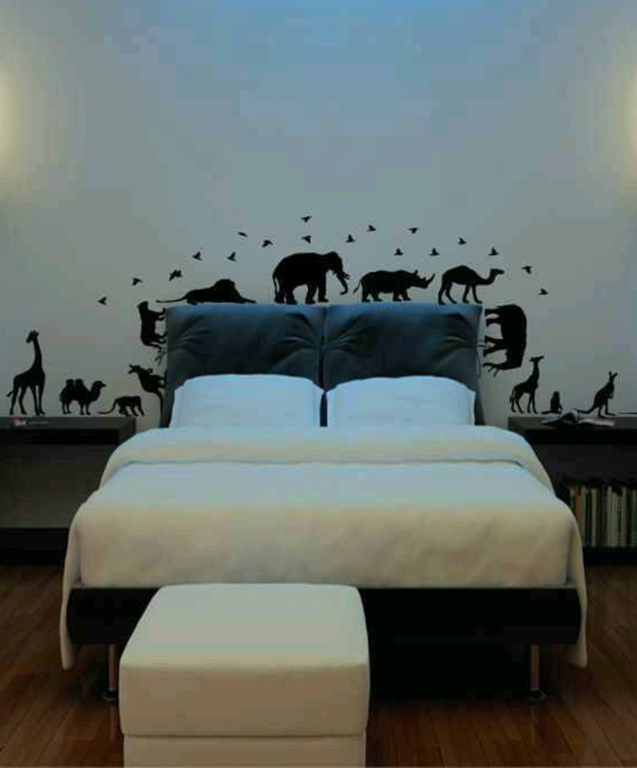 Some Amazing Wild Life On Walls