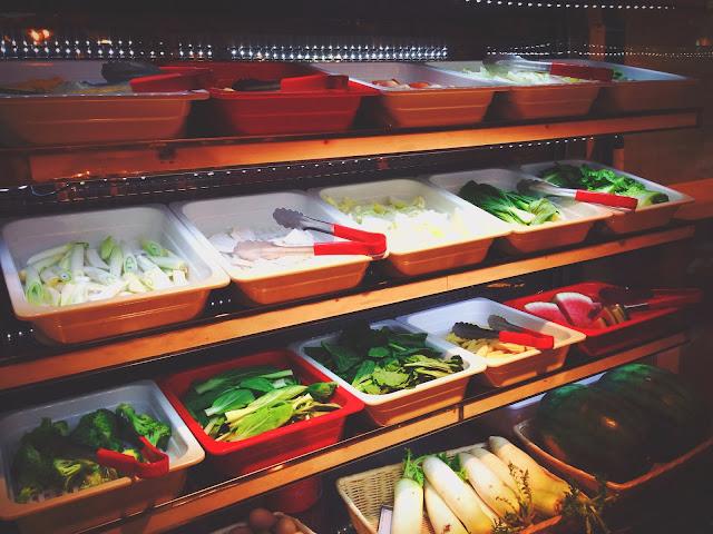 Organic Vegetables at Mara Shabu Pasarbella