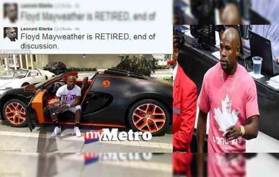 Floyd Mayweather Sah Bersara, Beli Bugatti Veyron