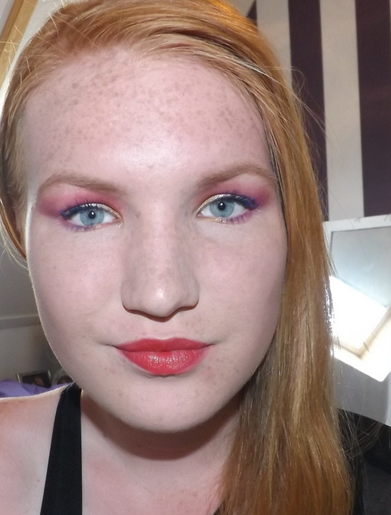 Tutorial: Rood/Goud/Zilver make-up look