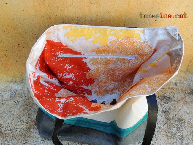 Bolso+tela+ impermeable