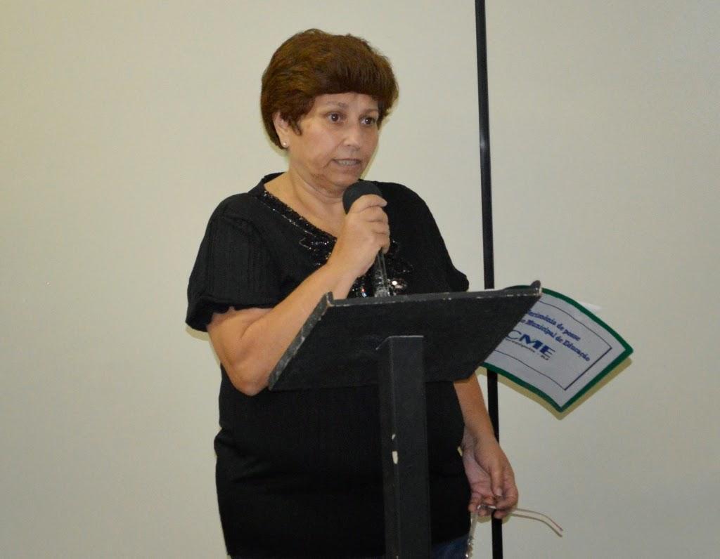 Professora da rede municipal por 33 anos, Fátima Pereira Machado é a nova presidente do Conselho