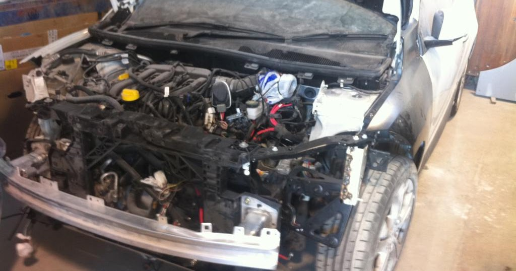 Renault Megane III - Project Blog: Jig & Alignment work completed
