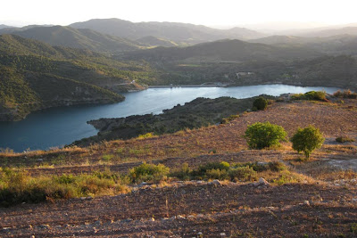 Siurana reservoir from Siurana