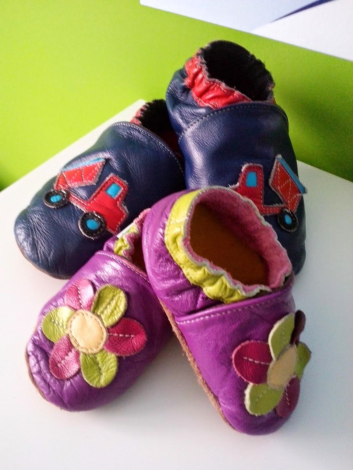 54. Idealne kapciuszki na dziecięce nóżki - Ekotuptusie