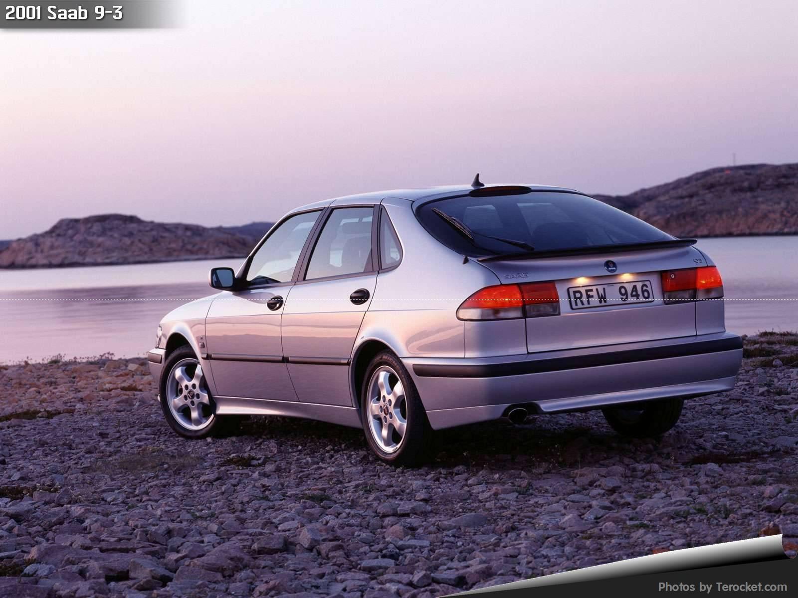 Hình ảnh xe ô tô Saab 9-3 2001 & nội ngoại thất