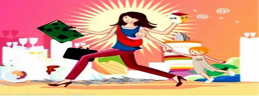 Photo couverture facebook pour femme de foyer