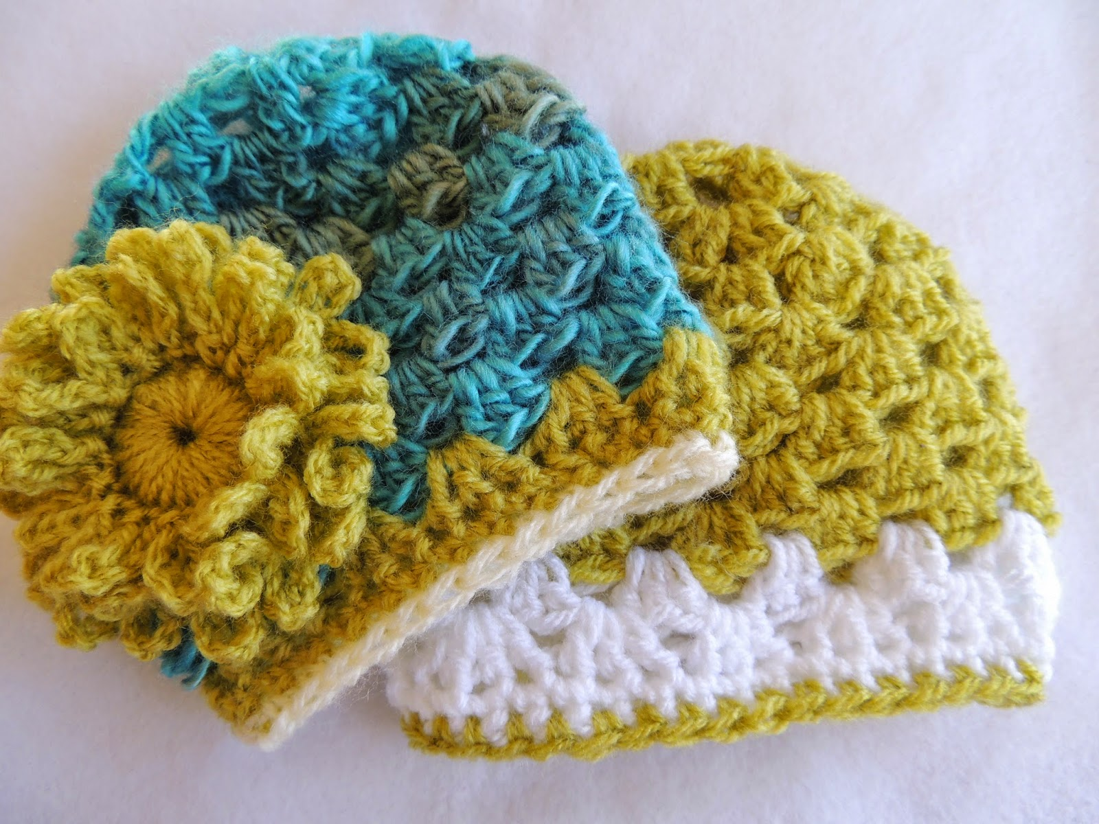 Susans Hippie Crochet Updated Granny Hat And A New Free Flower