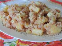 Kuvan i przen krompir sa prsutom