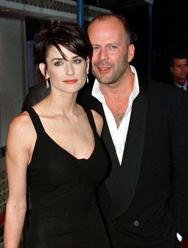 Bruce willis dating history