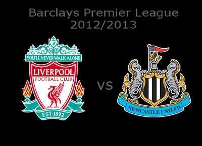 Liverpool vs Newcastle United Barlays Premier League 2012