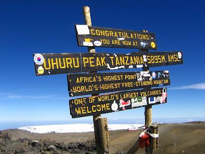 (Tanzania) – Kilimanjaro - Uhuru Peak