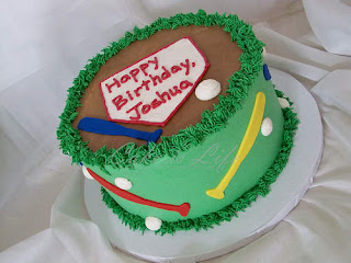Delicious Baseball Cakes Pictures