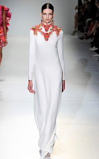 Gucci Spring/Summer 2013 Embroidered Dress