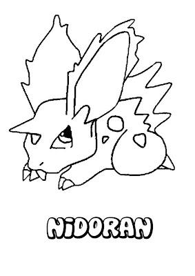 Desenhos do Pokemon para Imprimir e pintar
