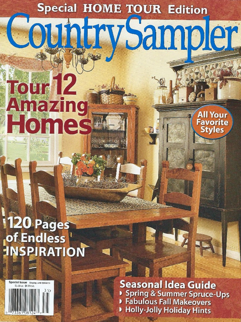 country heart country sampler home tour edition 2013