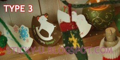 033: Santa's Cute X'mas Card