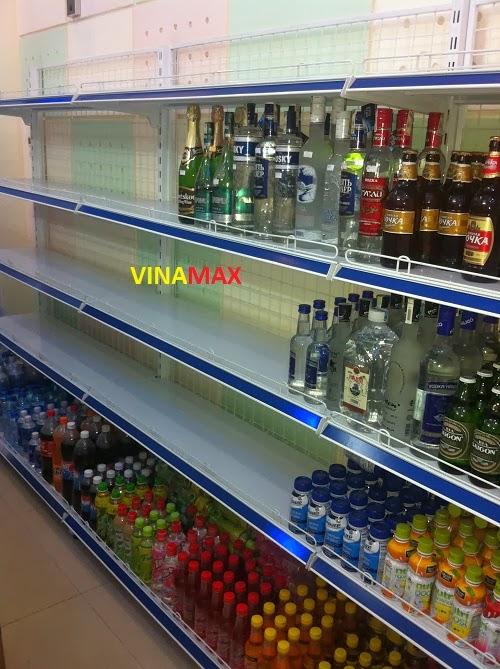 giá kệ siêu thị vinamax