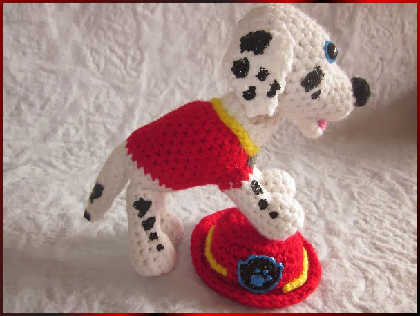 Melissas Crochet Patterns: Marshall from Paw Patrol ...
