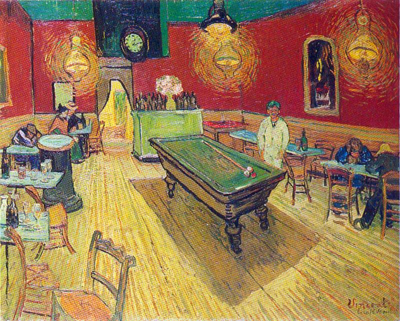 Vincent Van Gogh Night Cafe Vincent Van Gogh Night Cafe