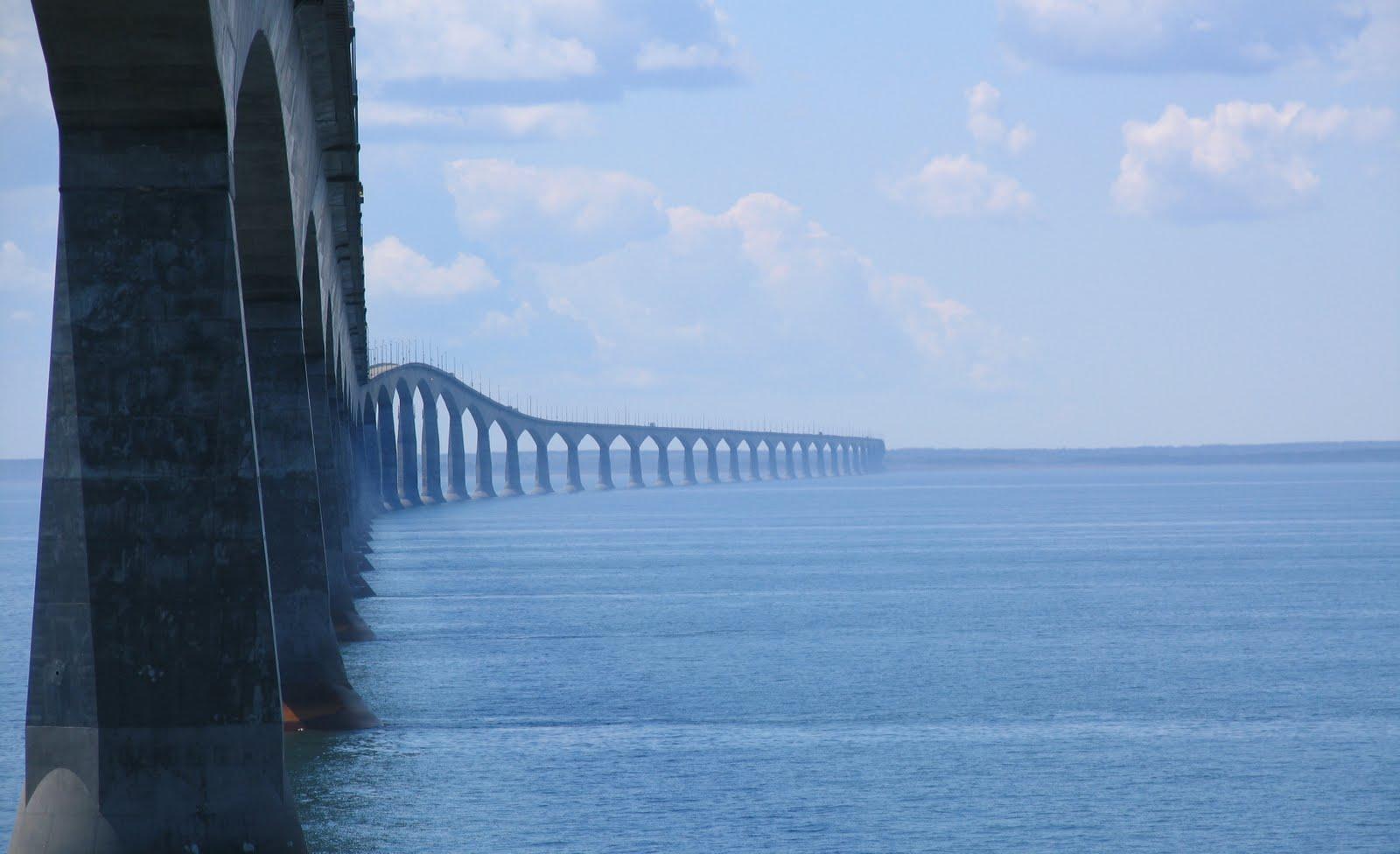 Longest Bridge In The World Over Water The world over icy water Longest Bridge In The World Over Water