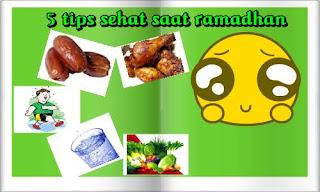 tips ramadhan, tips sehat tubuh saat puasa, puasa sehat,