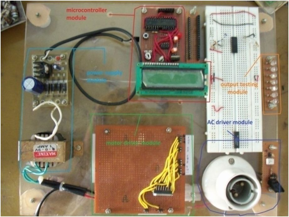 avr simple electronic projects home made development board