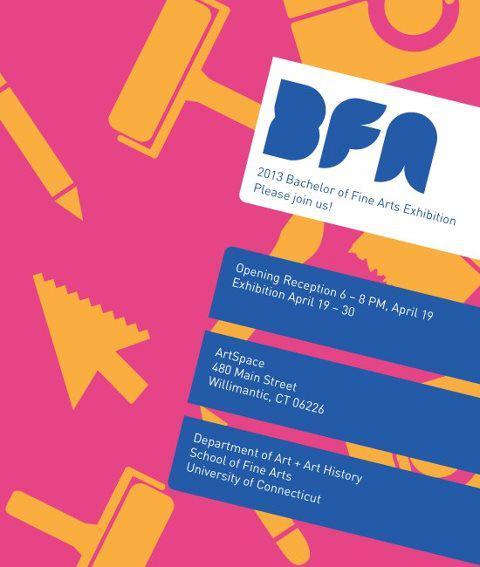 2013 BFA Exhibition, graduating seniors, illustration seniors, bfa exhibit, bfa show, University of Connecticut