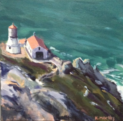 Race Rocks, seascape, lighthouse, Kathy MacKay