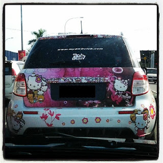 Kereta Semangat 'Hello Kitty'