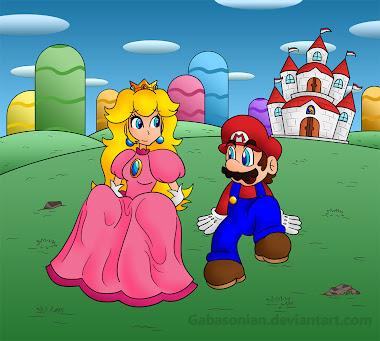 Mario y Peach: