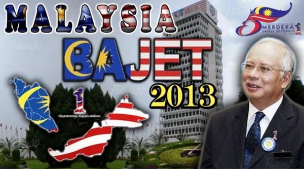 Bajet 2013 - Intipati Penting Belanjawan 2013