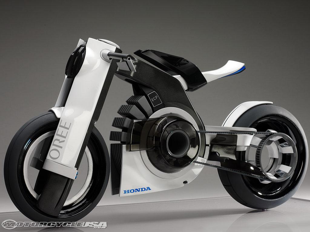 Techno Moto Electrique Honda S Y Met Aussi