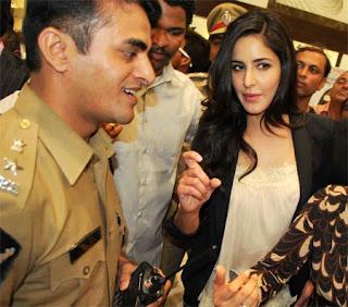 Katrina Kaif visits Mehboob Studio and Hyderabad