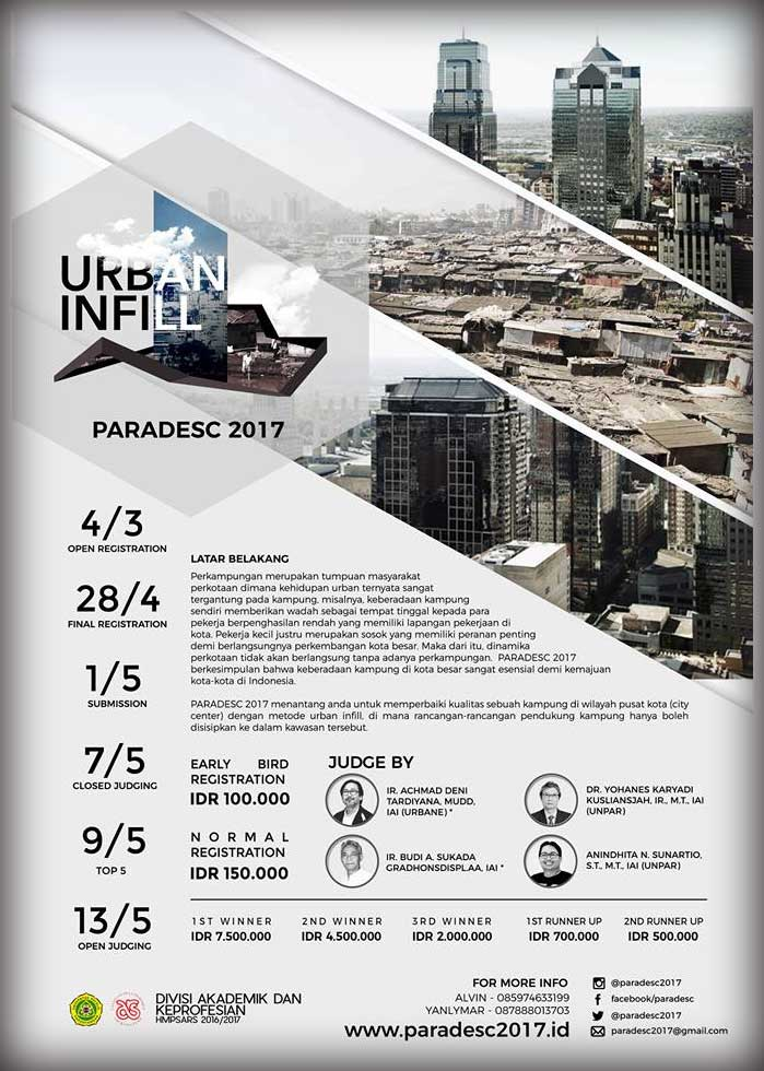 Paradesc 2017 Sayembara Desain Arsitektur Urban Infill ARSIGRAF
