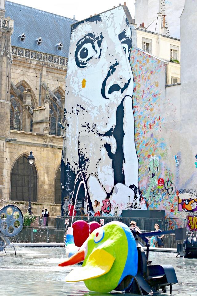 Paris mit Kindern - das Centre Pompidou