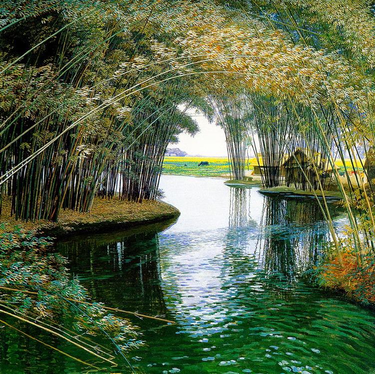 Im genes arte pinturas paisajes chinos zen en pintura for Imagenes zen