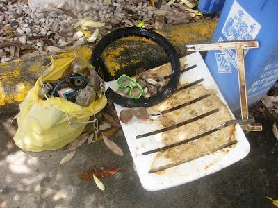 Debris found on Chaweng Beach