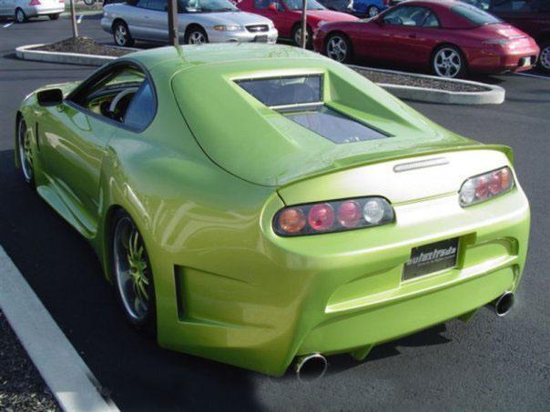 Modified Cars Toyota Supra Full Modified