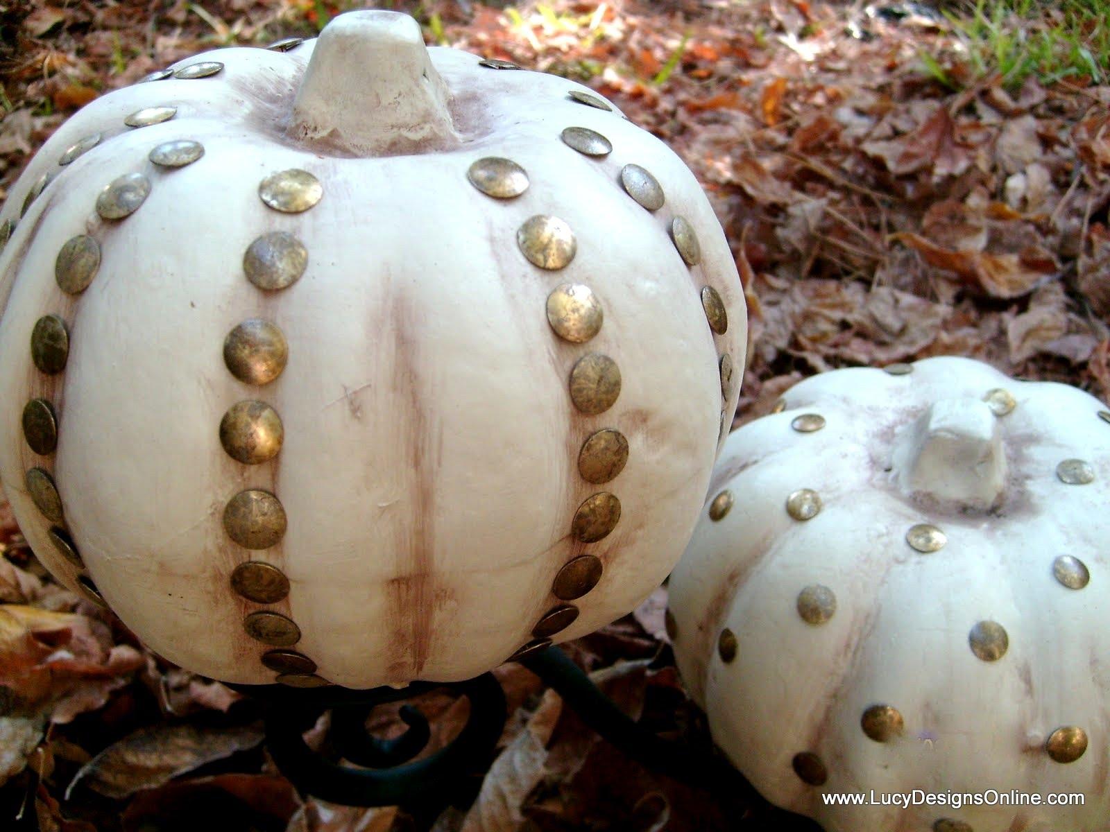 How to store pumpkins - Diy Dollar Store Pumpkin Decor