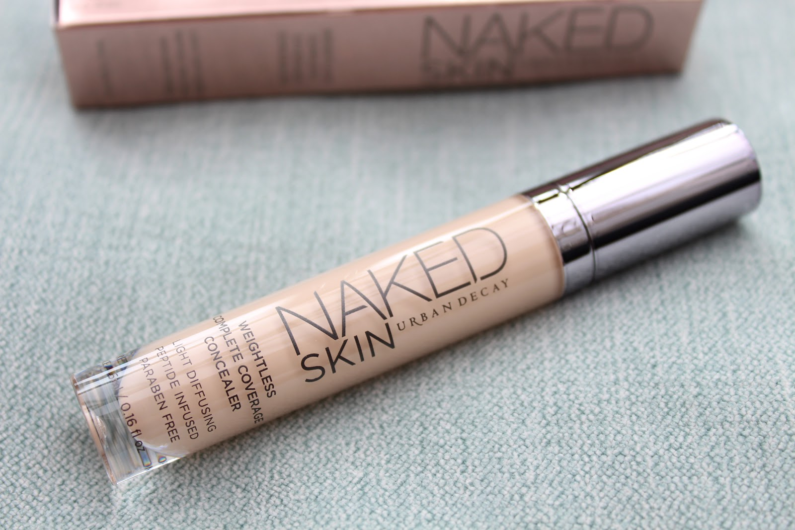 Urban Decay Naked Skin Weightless Complete Coverage Concealer Fair Neutral Review and Swatches