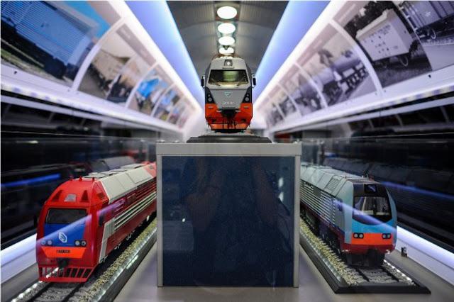 В Кемерово приедет поезд-музей