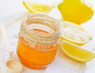 Mix a little honey in with lemon for a cleansing face wash.