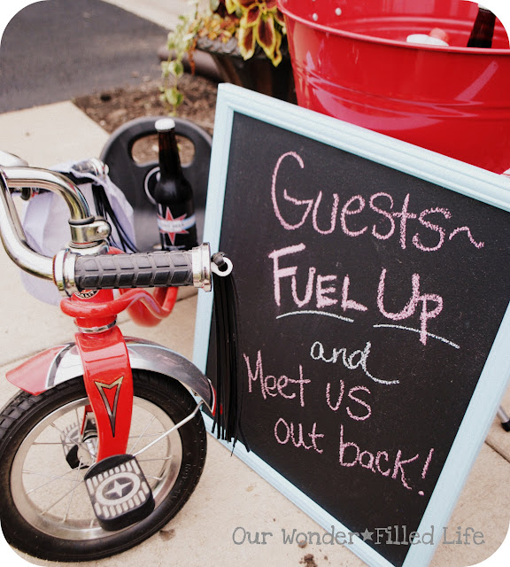 tricycle bike bicycle birthday party ideas