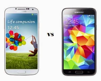 Membandingkan HP Android Galaxy S4 dan S5